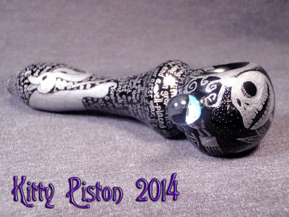 Jack Skellington's What's This Lament Hand Engraved by Zoombiez, $275.00