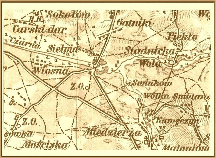 Stara mapa Sielpi