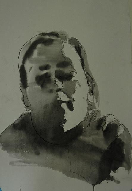 ink study no. 2 by Mark Horst, via Flickr