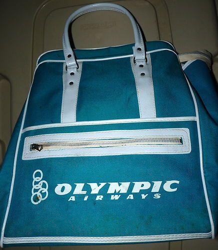 olympic vintage bag