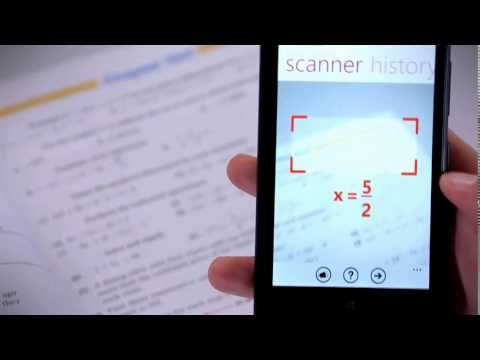 """Photo Math - App free for iOS and Windows phone Not a replacement for using your brain, but can assist in solving difficult math problems/formulas in certain situations. I say, """"That it's always good to use your brain too and recheck your answers for accuracy ;)"""