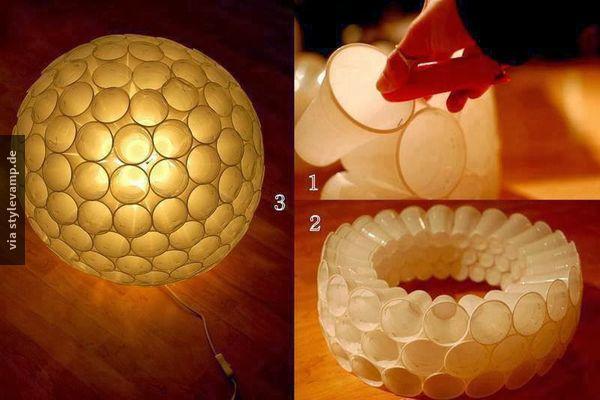 DIY - Atmosphärischer Lampenschirm