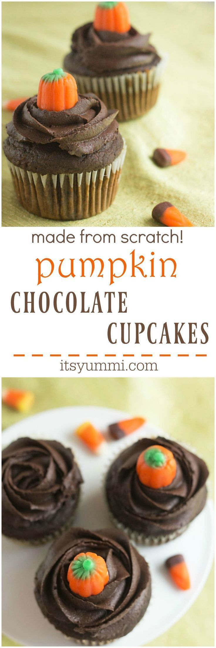 826 best halloween recipes images on pinterest halloween for How to make halloween cupcakes from scratch