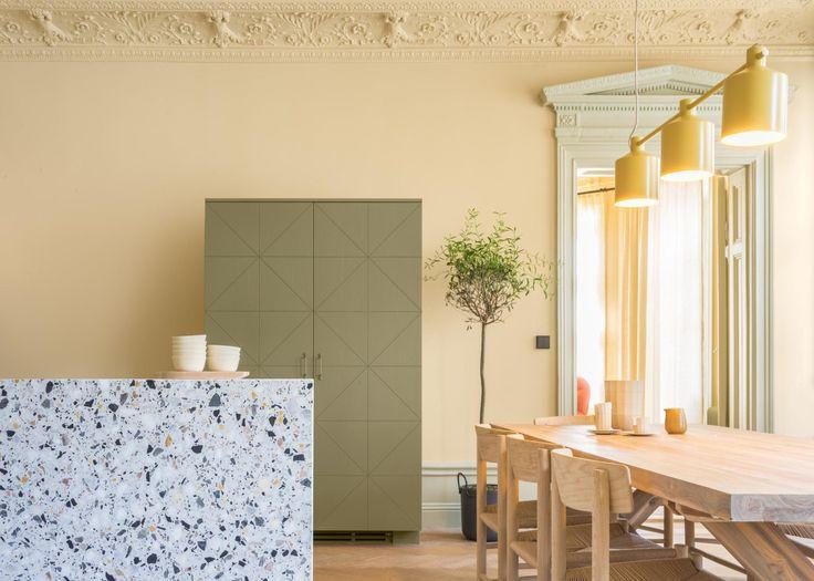 Apartamento Escandinavo aposta na união do clássico com moderno