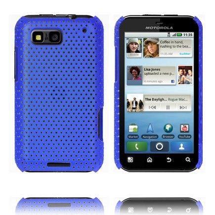 Atomic (Blå) Motorola Defy Deksel