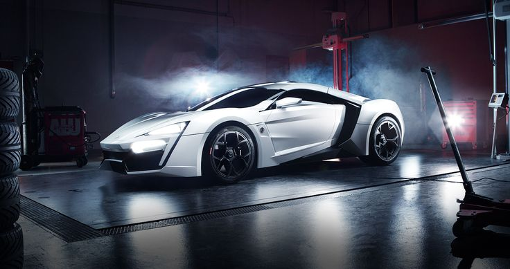 Lykan Hypersport . The first Arabian supercar