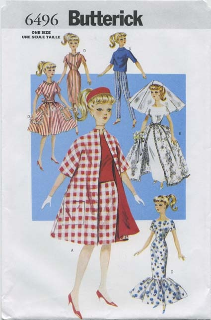 1000 Images About My Vintage Barbie Doll Clothes Sewing
