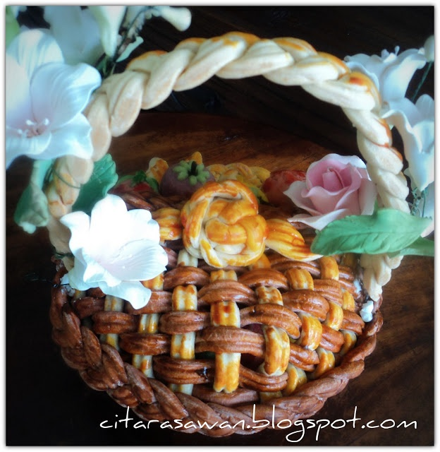 How to make a pastry basket - tutorial and recipe