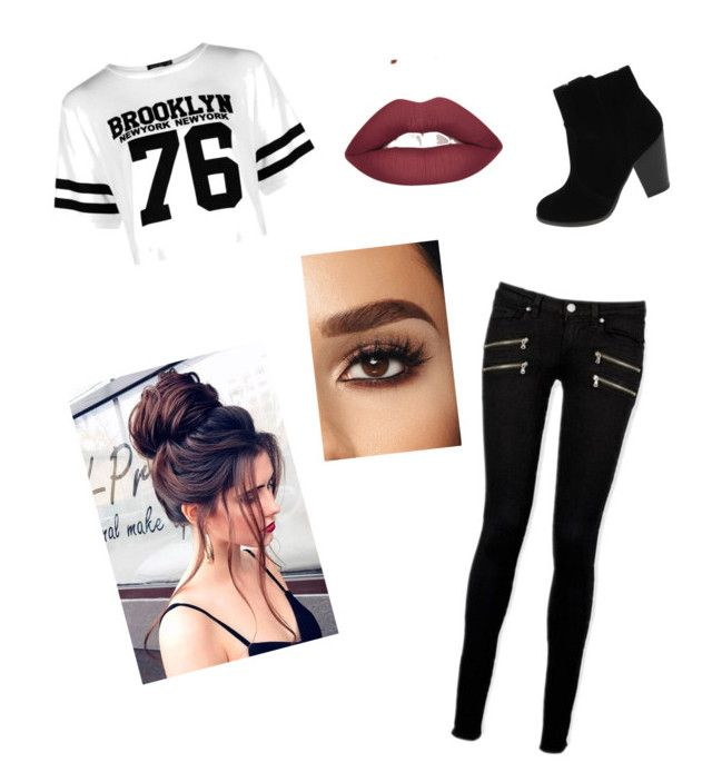 """""""It's movie times!!!"""" by ophelierose on Polyvore featuring mode, Boohoo et Paige Denim"""