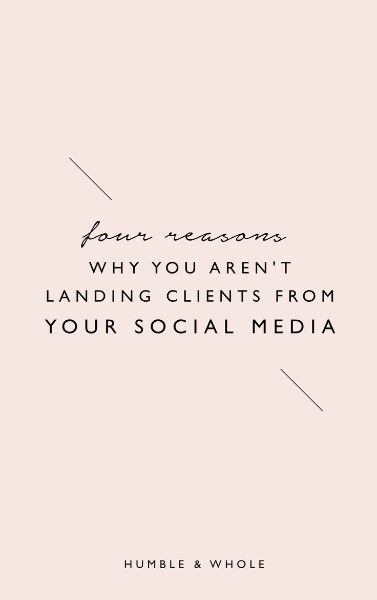 Being an online service based entrepreneur/freelancer with a heart for 1:1 work can be both rewarding and frustrating, especially if inquires and clients are few and far in between. In this guide, we identify the four most common reasons why online entrepreneurs fail to land clients from their social media, and how to correct those mistakes. Download the guide today if you're ready to learn how to get clients from your social media!