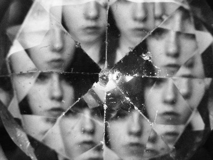 Kaleidoscope portrait