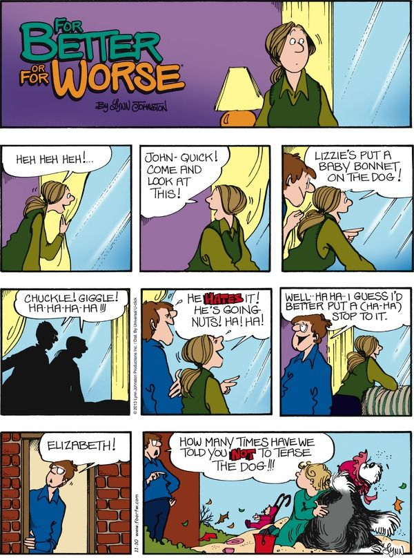for better or for worse cartoon strip
