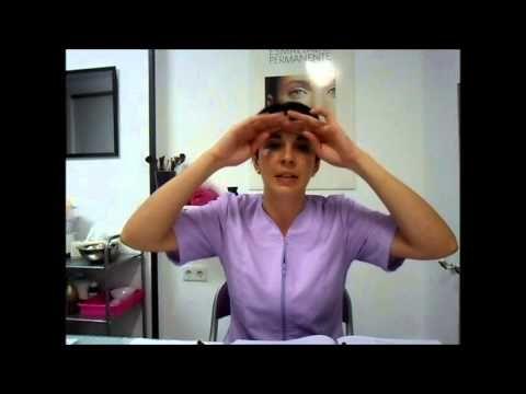 drenaje linfático manual facial - YouTube