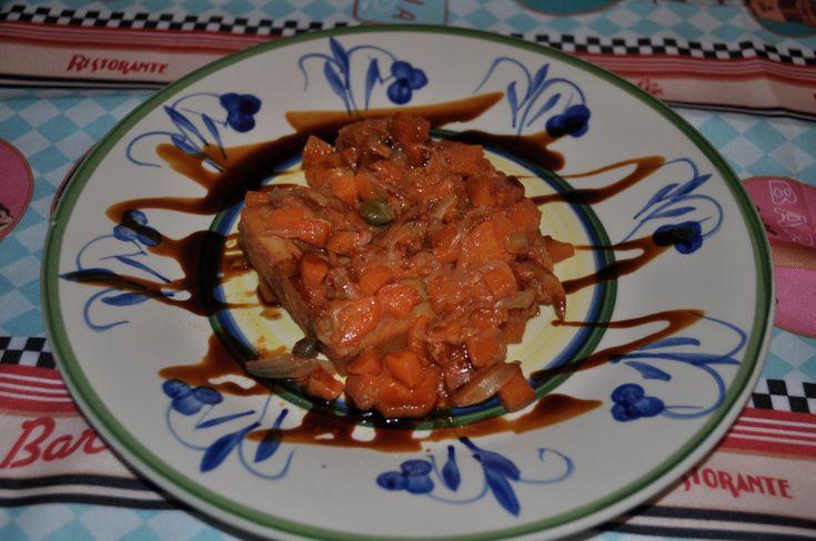 In Tutte Le Salse - Merluzzo carote, cipolla e capperi