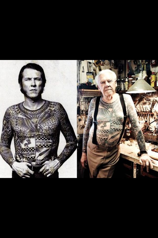Who says tattoos don't age well?