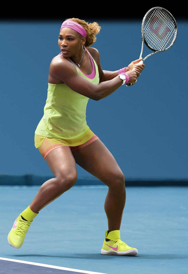 Nike Tennis Serena Collection: Australian Open 2015 Back Out a few players commented on her daring choice of having the back out. As if she would be the only one to pull it off