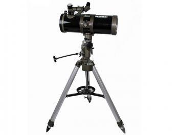 Telescópio Refletor com Amplificação de 1500x - Greika 1000114 EQ com Tripé em Alumínio