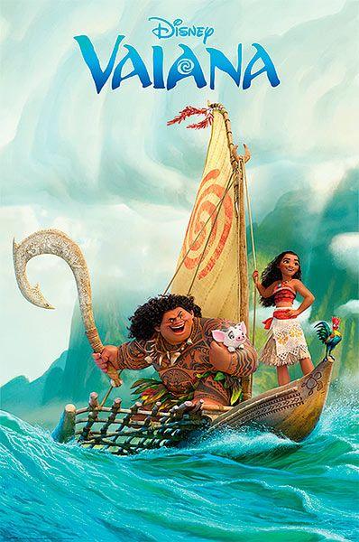Póster Vaiana, bote Póster basado en la película de animación de Disney, Vaiana.