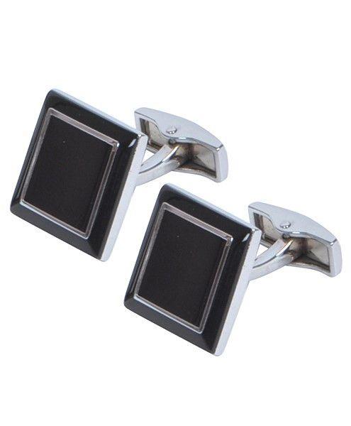 - Premium Rhodium Cufflinks - Polished Silver plated finish - Boxed