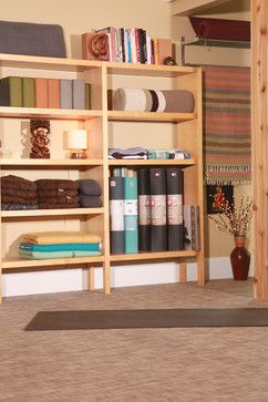 Columbia Tusculum Residence/Yoga Studio - contemporary - home gym - cincinnati - Greener Stockl