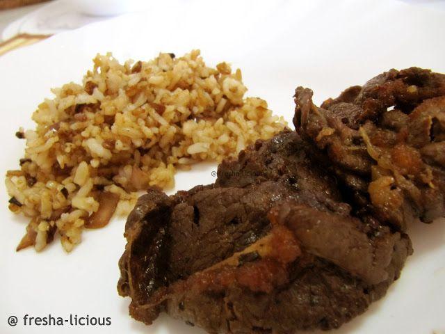 myFresha-licious: Beef Tapa - II   | more Filipino and Asian recipes at http://www.myfresha-licious.com/