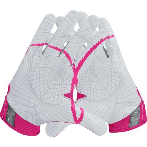 Nike Men's Vapor Jet 4 BCA Football Glove Pink - Football Equipment, Football Equipment at Academy Sports
