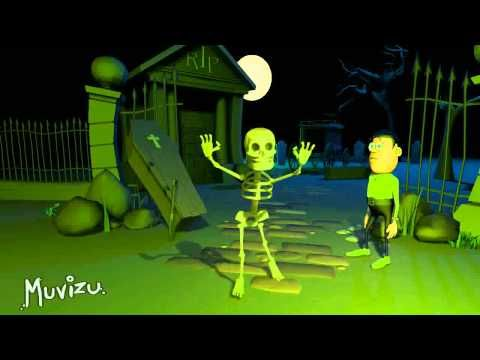 Thriller animation - much more kid-friendly than the original music video