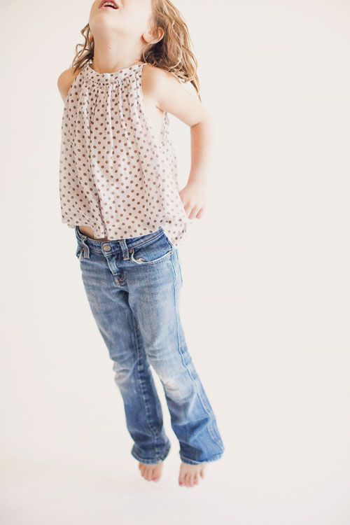 So cute! What a sweet spring and summer outfit for kids. By Our Labor of Love. Yes.