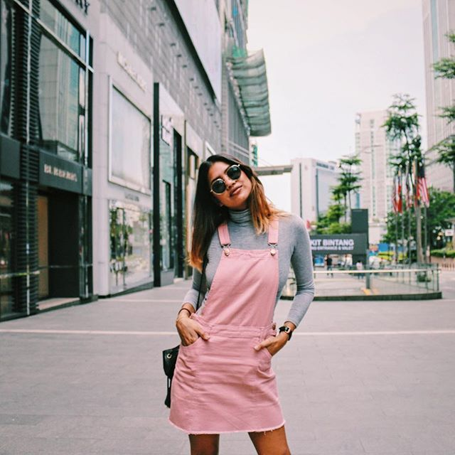 b57227b73f Pink Overall Dress spotted in Malaysia     natalieisasleep