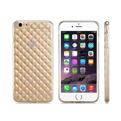 Diamond-Pattern Transparent Protective Case Cover - iPhone 6 Plus. From www.iToys.co.za