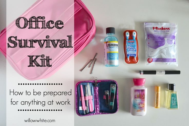 Office Survival Kit at willowwhite.com