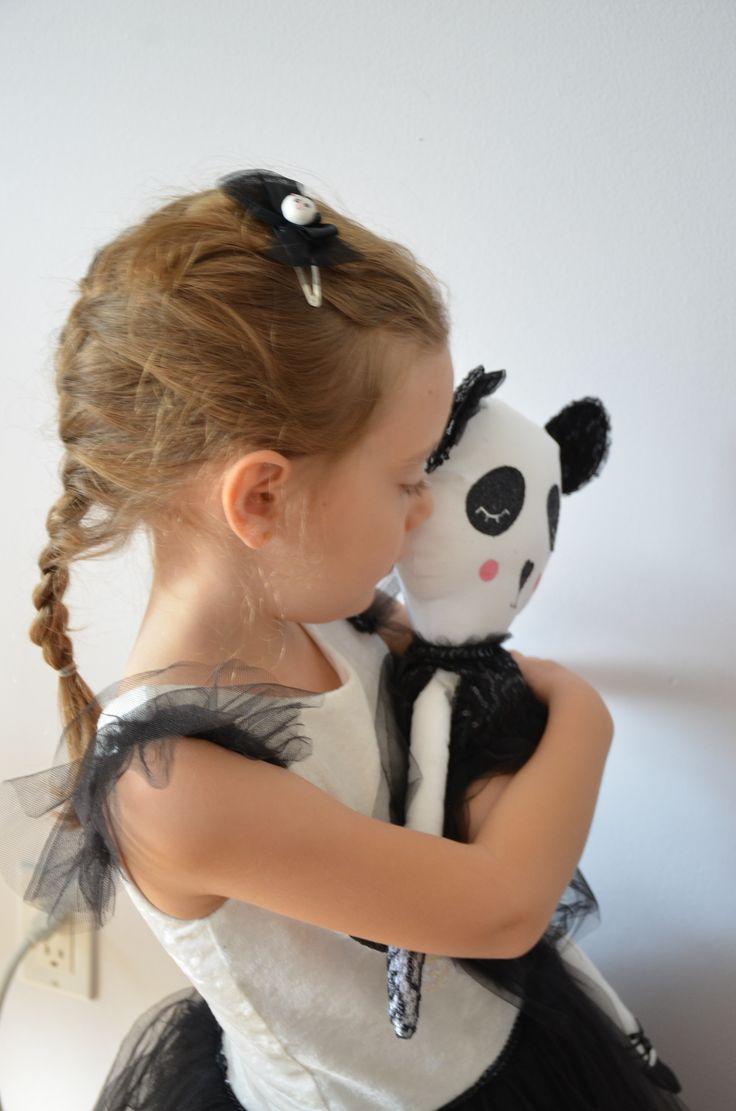 panda costume, panda dress