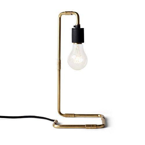 Warren Table Lamp, brass