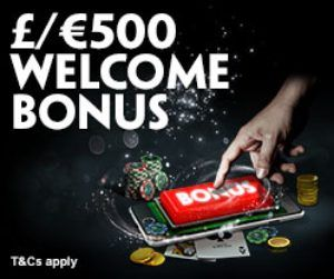 PADDY POWER CASINO - £/€500 WELCOME PACKAGE - UK Casino List