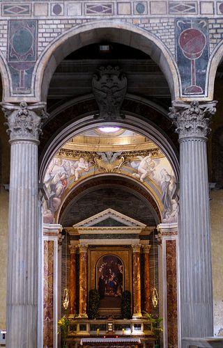 Rom, Santa Sabina, Kapelle der hl. Katharina von Siena (Chapel of St. Catherine of Siena)