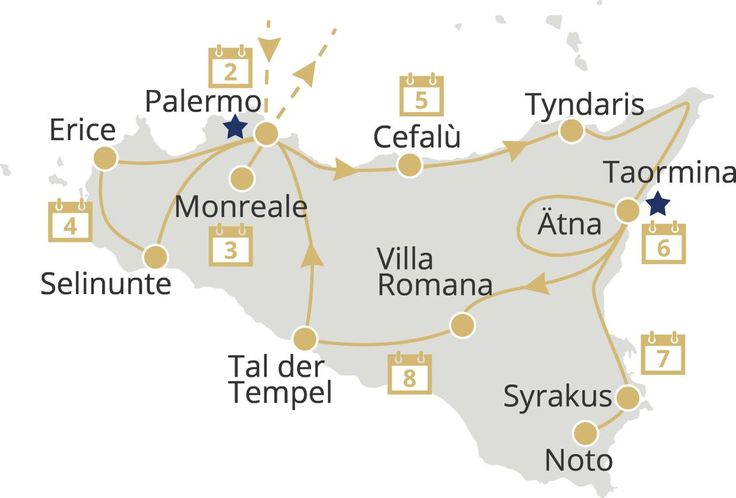 Super-Destination im Jahr 2016: Sizilien - Schönheit der Antike!