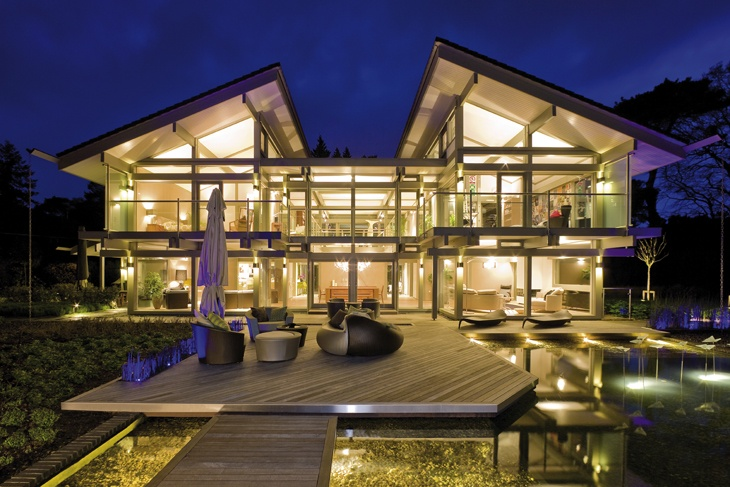 This is the Huf Haus that I hope to build one day. Check out the media link on their website!