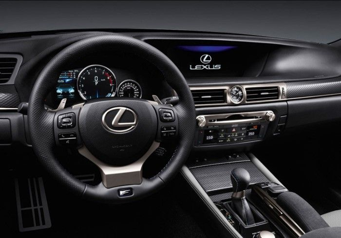 Lexus Gs F Red Black Interior Lexus Sedan Lexus New Lexus