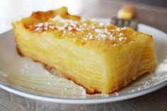 Délicieux Gâteau invisible pommes-poires par Emilie pour le Blog de Cuisine Emilie Ramène sa Fraise. Gâteau léger, fondant en bouche !