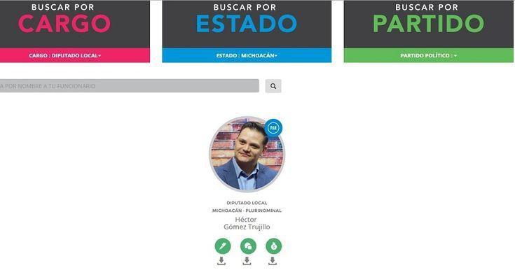El diputado del PAN es el único legislador del Congreso en Michoacán que ha presentado su declaración patrimonial, de intereses y fiscal, dando con ello la debida importancia al tema ...