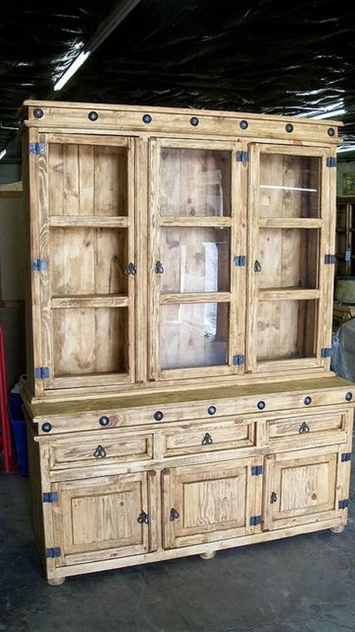 #Pallet hutch idea (Dunway Enterprises) For more info (add http:// to the following link) www.dunway.info/pallets/index.html