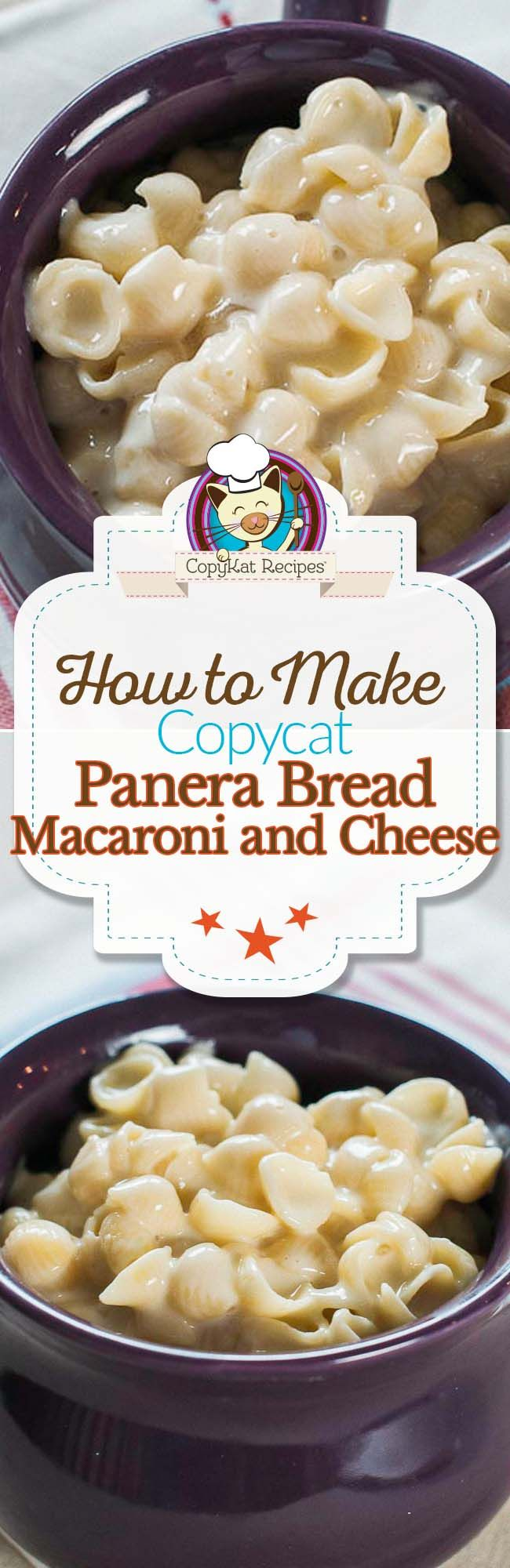 Copycat Panera Bread Macaroni and Cheese