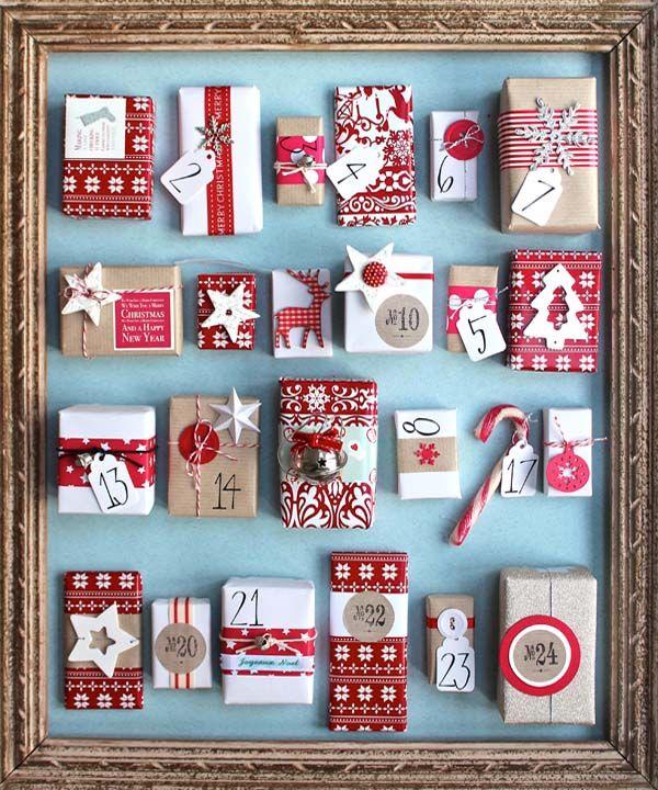 30+ Creative DIY Christmas Advent Calendar