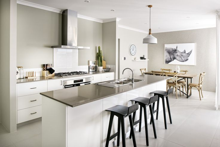 Gourmet Kitchen - Homebuyers Centre Bohemian Display Home - Banjup, WA Australia