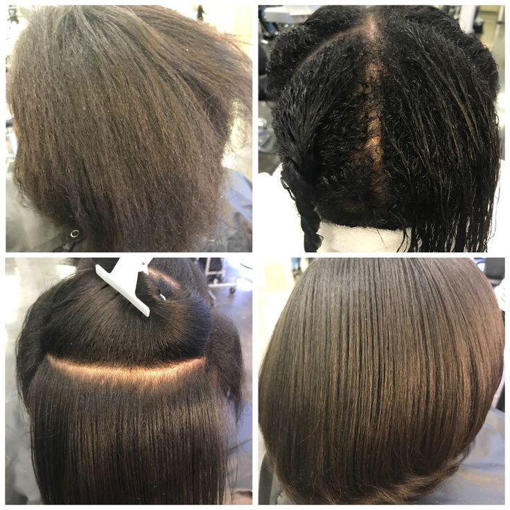 Inspiration by Ebony J from Ogle School Hair. Skin. Nails. - Dallas Campus. #before #clarifyingshampoo #deepconditionertreatment #naturalhairclient #silkpress @bloomdotcom