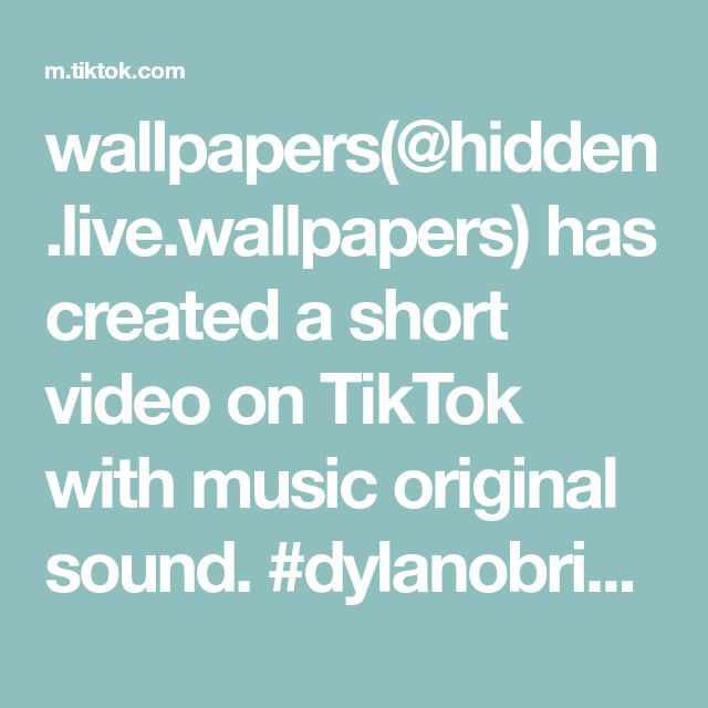 Wallpapers Hidden Live Wallpapers Has Created A Short Video On Tiktok With Music Original Sound Dylanobrien Styl Penny Board The Originals Live Wallpapers