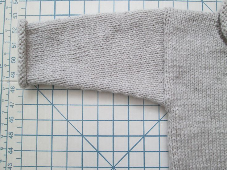 """Drop Shoulder Sleeve.  Sweater Based on """"1,2,3, or 4 Pullover"""" by Gail Pfeifle of ROO  DESIGNS.  I Bought the Pattern from Ravelry."""