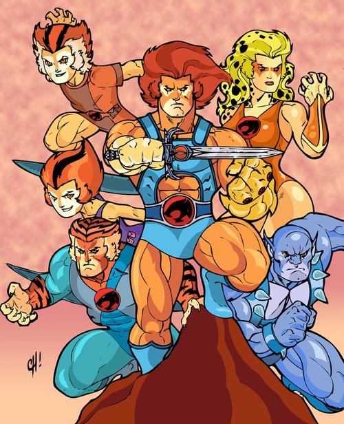 Thundercats by ~SpikeHDI  for my Natalie: Thunder, Thunder, Thunder Cats, Ho!