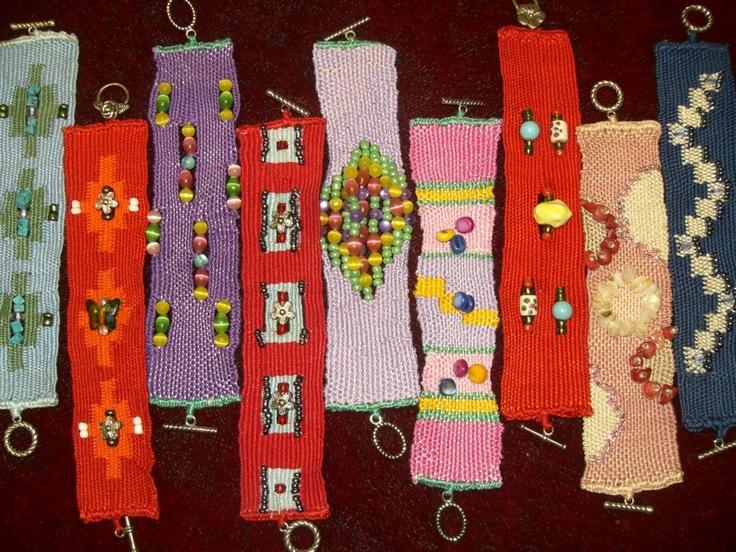 Anastasia Iordanaki  -  various bracelets
