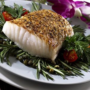 Southwestern Style Grilled Chilean Sea Bass « Smoked 'n Grilled